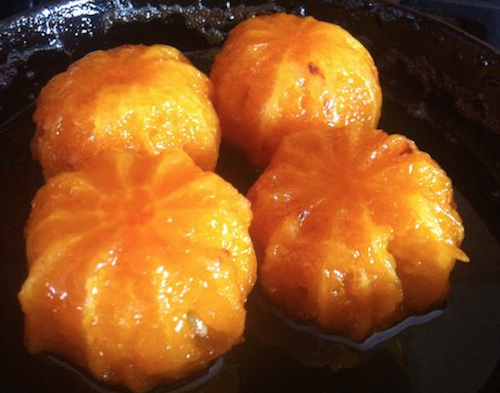 Mandarine confite