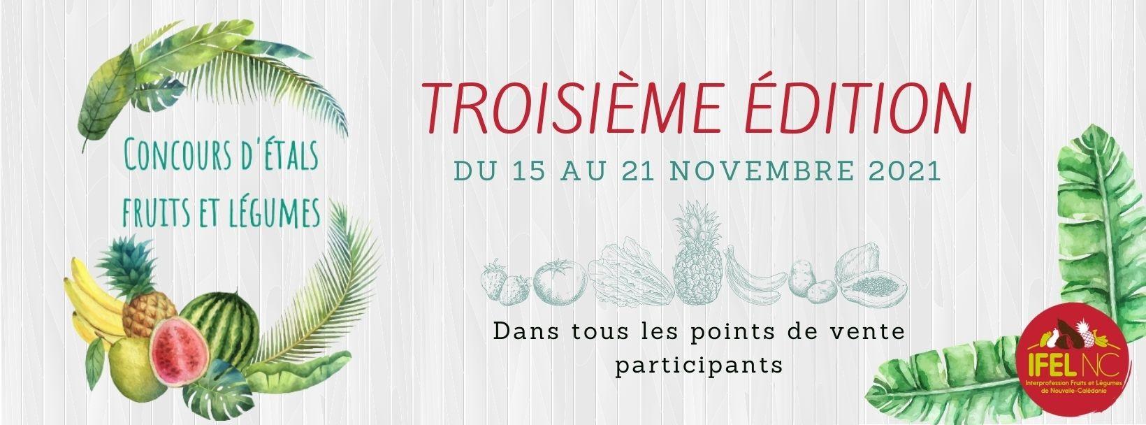 Concours d'étals fruits et légumes 3ème édition !